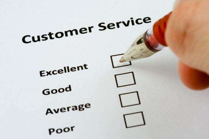 excellent customer service experience
