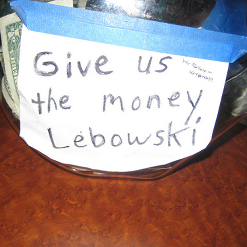 photograph about Printable Tip Jar Signs named Idea Jar Programs, 22 of them, youre welcome. - The Hospitality